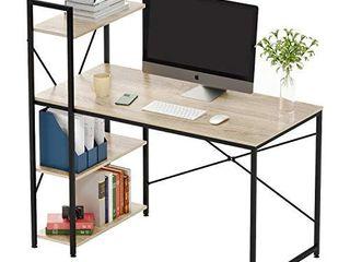 Bestier Computer Desk with Shelves 47 Inch  Item  BEST T320