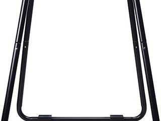Amazon Basics Dip Fitness Bar   34 x 32 x 38 Inches  Black