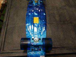 Blue Mini Skateboard