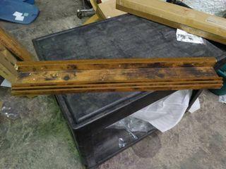 Set of 3 Wood Shelves