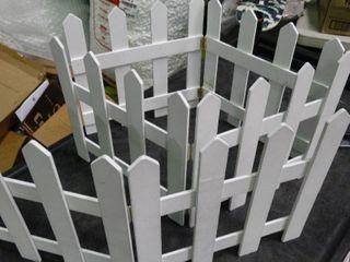 Garden White Picket Fence