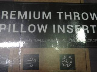 Premium Throw Pillow Insert