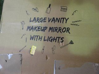 large Vanity Makeup Mirror with lights