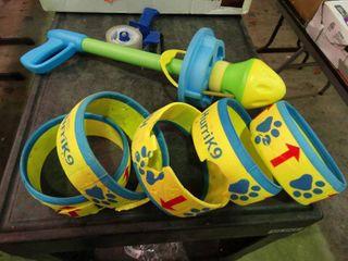 HurriK9 Flying Ring launcher for Dogs