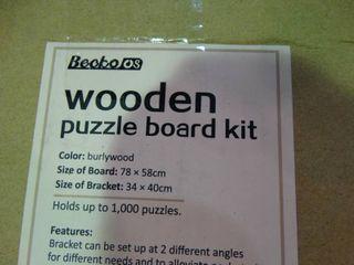Wooden Puzzle Board Box