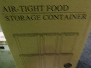 lot of Air Tight Food Storage Containers