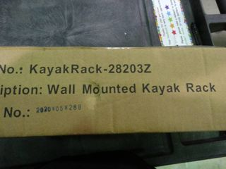 Wall Mount Kayak Rack