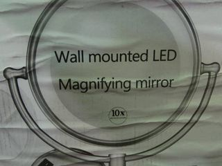 Wall Mount lED Magnifying Mirror
