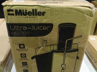 Mueller Ultra Juicer MU 100