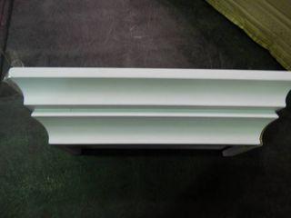 Set of 3 White Shunky Shelves