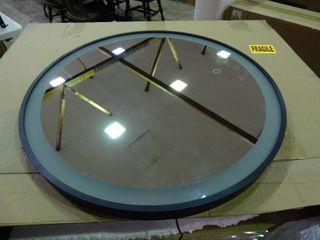 light Up Round Mirror