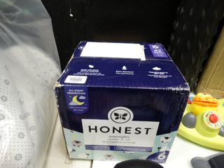 Box of Honest Size 6 Diapers