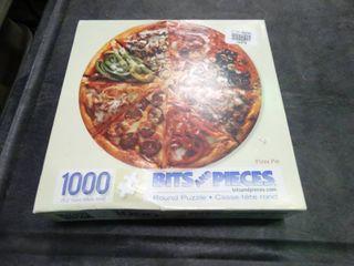 PIZZA PUZZlE 1000 PCS