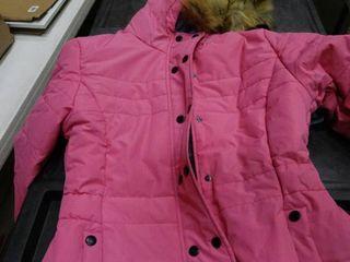 Girls Winter Puffer Coat Size 14 16