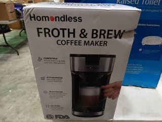Homondless Froth and Brew Coffee Maker