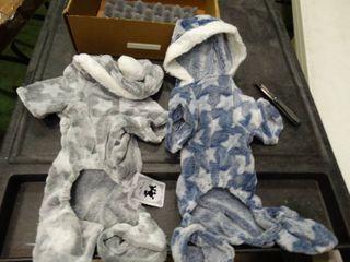 lot of 2 Dog Baby Pajamas
