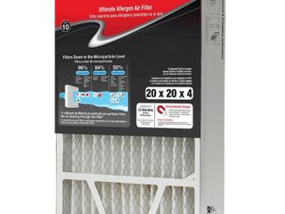 3 Honeywell Home 20 x 20 x 4 Pleated Air Filter FPR 10