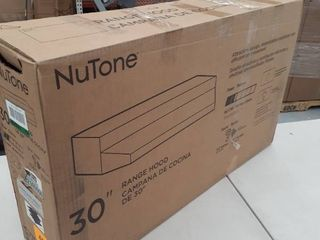 NuTone 30 in  Convertible Under the Cabinet Range Hood with light