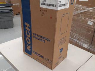 box of 12 Koch 14x25x1 Filter