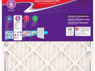 2 Honeywell 16 x 25 x 1 Superior Allergen Pleated FPR 9 Replacement Air Filter