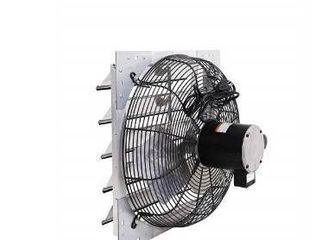 Shutter Mounted Exhaust Fan  Size 8 36  18SF4V180 C