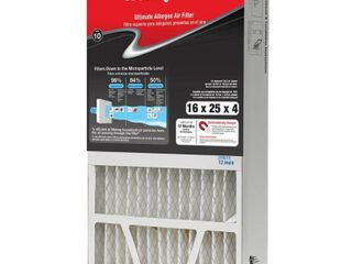 3  Honeywell Home 16 x 25 x 4 Pleated Air Filter FPR 10