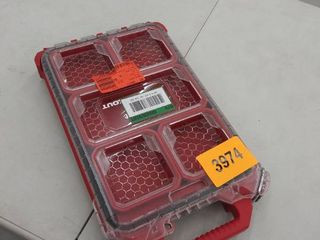 MIlWAUKEE 48 22 8436 Packout Compact low Profile Organizer   Quantity 1