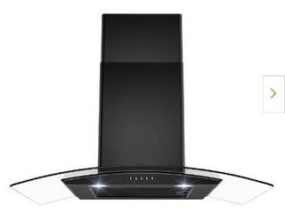 30 In Range Hood with Tempered Glass and Carbon Filters  RH0475