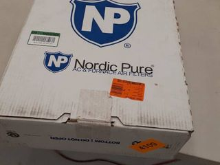3  Nordic Pure 16x20x2 AC Furnace Air Filters