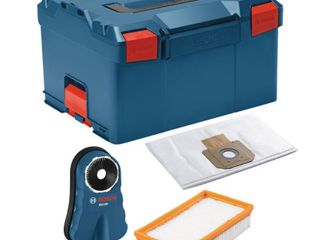 Bosch 9 Gal  17 5 in  l x 14 in  W x 10 in  H Pro Plus Guard Drilling Kit with Stackable Tool Storage Hard Case  Blue
