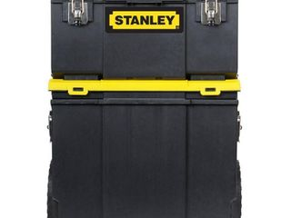 Stanley STST18613 3 in 1 Rolling WorkShop MISSING BOTTOM PIECE SO THERE ARE NO WHEElS