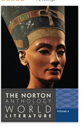 The Norton Anthology World literature Volume A