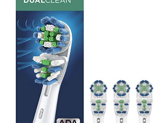 ORAl  B  DUAl ClEAN  2X THE ClEANING ACTION
