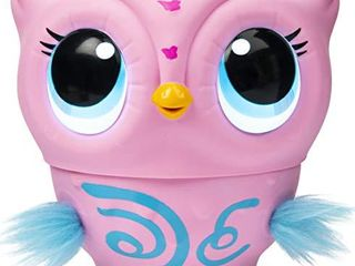 Owleez  Flying Baby Owl Interactive Toy with lights   Sounds  Pink  for Kids Aged 6   Up