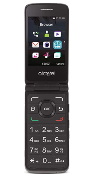 TRACFONE AlCATEl MYFlIP NO CONTRACT CEll PHONE