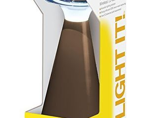 light It  By Fulcrum  lanterna  Wireless 12 lED Touch lamp  Bronze