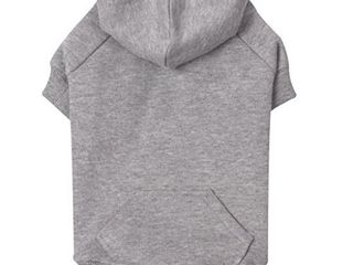 Zack   Zoey Basic Hoodie for Dogs  24  X large  Heather Gray