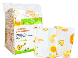 lITTlE OOCHOOS DISPOSABlE CHANGING PADS
