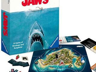 Ravensburger Jaws Board Game for Age 12 and Up   A Game of Strategy and Suspense