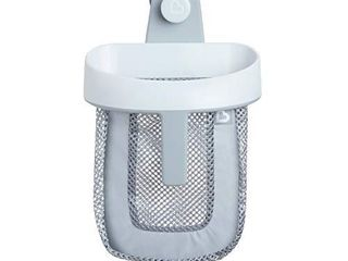 Munchkin Hanging Bath Toy Storage with Quick Drying Mesh  Grey