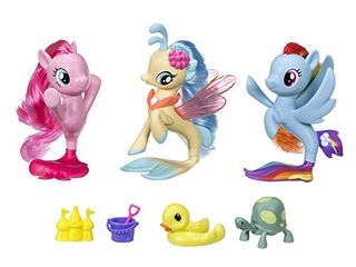 My little Pony the Movie Seapony Collection Set  Amazon Exclusive