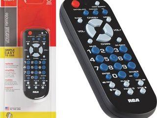 RCA RCR503BR 3 Device Palm Sized Universal Remote