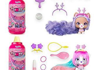 IMC Toys VIP Pets   Surprise Hair Reveal Doll   Series 1 Mousse Bottle   2 Pack