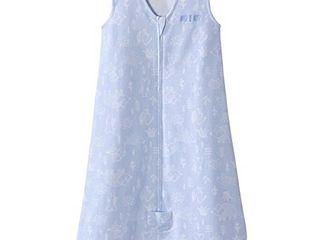 HAlO Sleepsack Wearable Blanket Cotton Woodland Etch Blue  Size X large