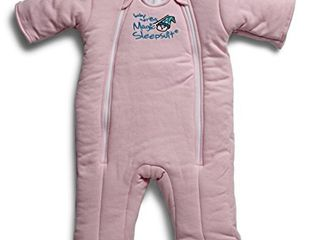 Baby Merlin s Magic Sleepsuit   Swaddle Transition Product   Cotton   Pink   6 9 Months