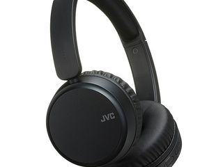 JVC Noise Cancelling Wireless Headpones  Bluetooth 4 1  Bass Boost Function  Voice Assistant Compatible   HAS65BNB Black
