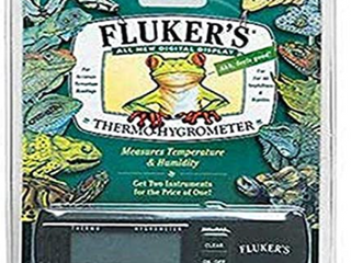 FlUKERS DIGITAl DISPlAY THERMO HYGROMETER