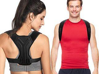Back Brace Posture Corrector for Women and Men   Upper Back Straightener Brace   Adjustable Posture Trainer for Neck  Back  Shoulder Support   Help to Improve Posture   l Size