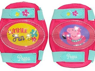 Peppa Pig Toddler Multi Sport Elbow and Knee Padset