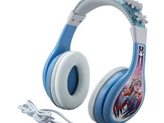 eKids   Frozen II Headphones   White Purple Blue